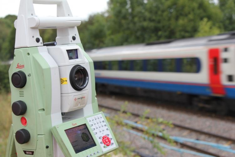 This can be simple topographical survey to track and platform gauging