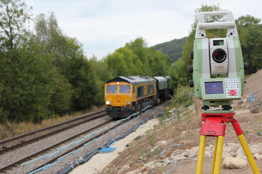 Topographical Surveys from railways to small building sites